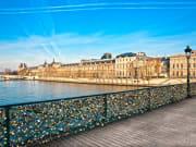 Musee du Louvre - Vue Seine