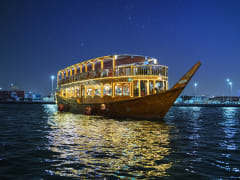 Dhow Cruise, Dhaw Dubai Creek Night Cruise Menu