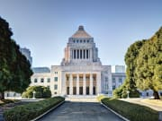 Drive past the National Diet Building