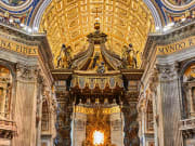 st peters basilica tickets, interior