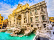 trevi fountain, rome tour