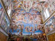 sistine chapel tickets, fresco, wall