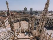 Italy, Milan, Duomo Di Milano Rooftop
