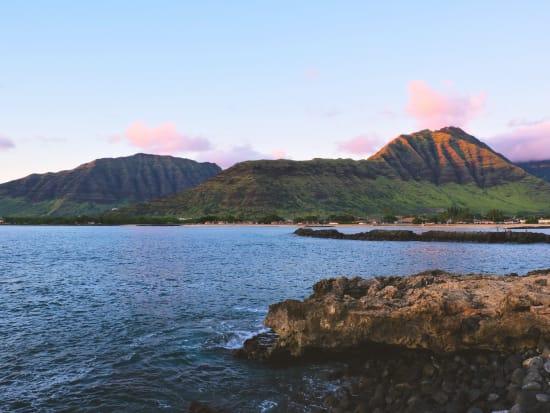 hawaii_oahu_waianae_sunset