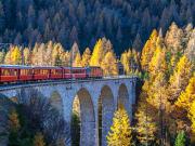 Bernina Express from Milan