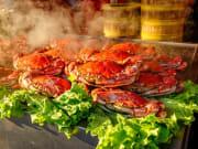 Beijing Market Seafood crabs