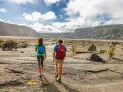 Hawaii_Big Island_Kilauea Iki crater trail hike_volcano_lava_shutterstock_1111511453