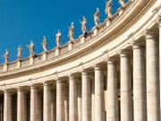 st peter's square, bernini colonnade