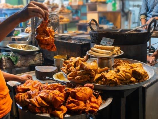 Delhi Market Food Tour Tandoori Chicken