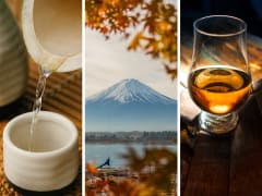 Mt. Fuji with Sake Brewery & Whisky Distillery