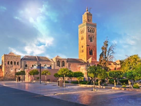 Marrakech Half Day Sightseeing Tour With Koutoubia Mosque And Bahia Palace Tours Activities Fun Things To Do In Marrakech Morocco Veltra