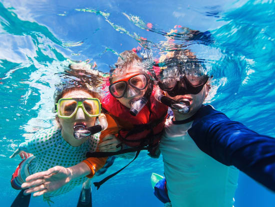 Great Barrier Reef, Snorkeling, Kids