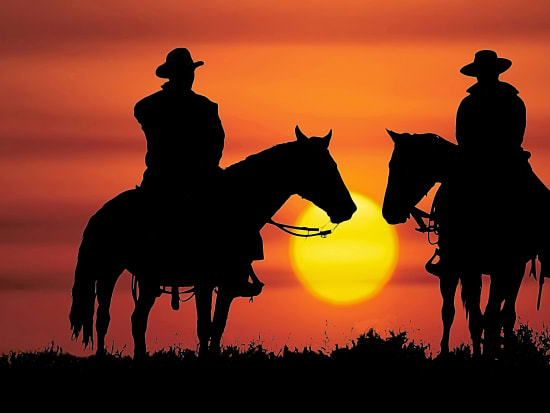 USA_Las Vegas_Wild West Sunset Horseback