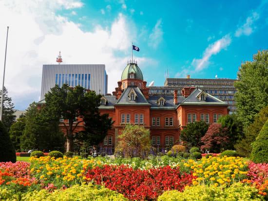 Japan_Hokkaido_Sapporo_Former_Govenment Office_shutterstock_372765211