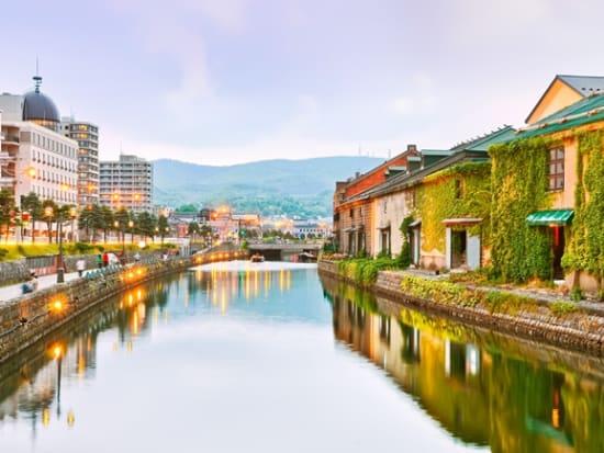 Japan_Hokkaido_Otaru_Canal_shutterstock_493352092