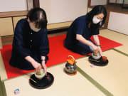 ミニ茶道体験(盆点前) (2)