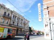 ヨーロッパ風の大通りを街ブラ歩き案2