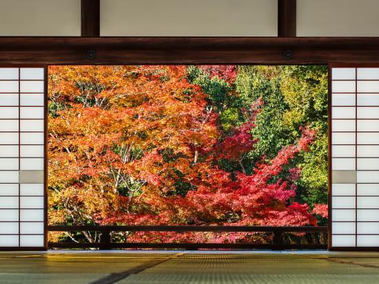 Japan_Kyoto_Tenryuji Temple_Autumn_Foliage_Garden_shutterstock_178762574