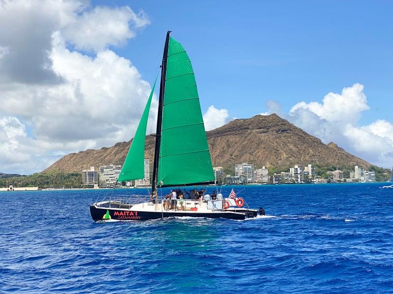 Maitai Catamaran Waikiki Booze Cruise Sunset Sail with ...