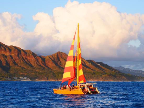 Na Hoku II Catamaran - Private Daytime Booze Cruise with ...