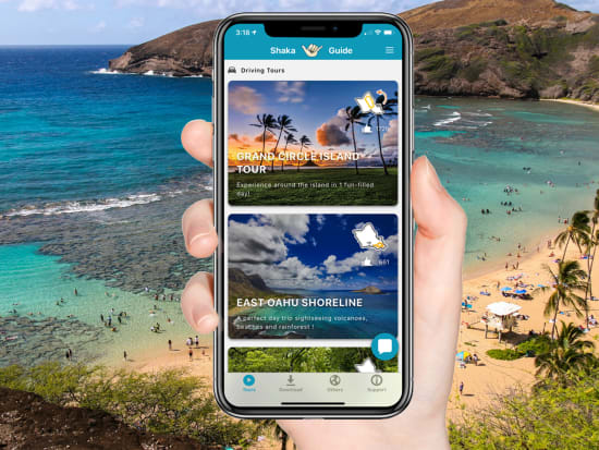 Oahu Handphone Scenery Promo
