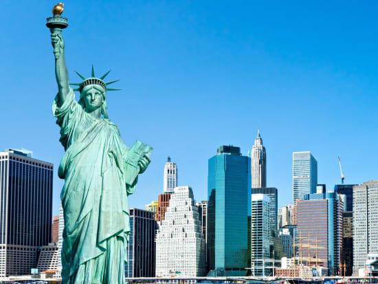 USA_New York_Statue of Liberty_Manhattan_123 RF_23548983_L