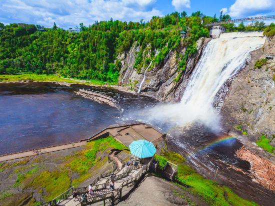 Canada_Quebec_Montmorency Falls_shutterstock_1710328033
