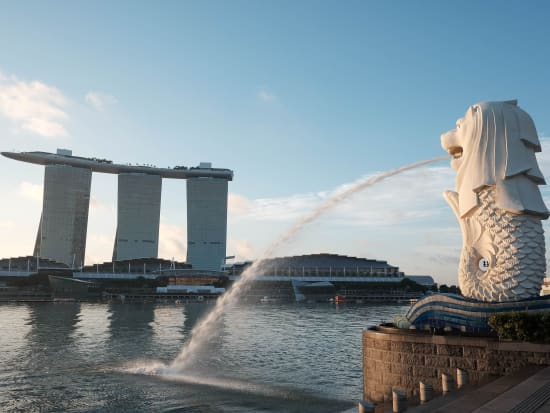 Singapore_Merlion_Marina Bay Sands_shutterstock_300669521