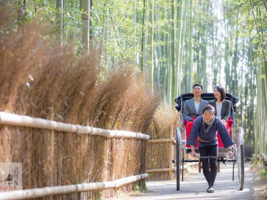 京都嵐山竹林専用道
