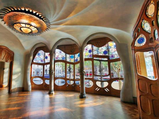カサバトリョ CasaBatllo Interior (copyright NEED!! ©Casa Batlló)