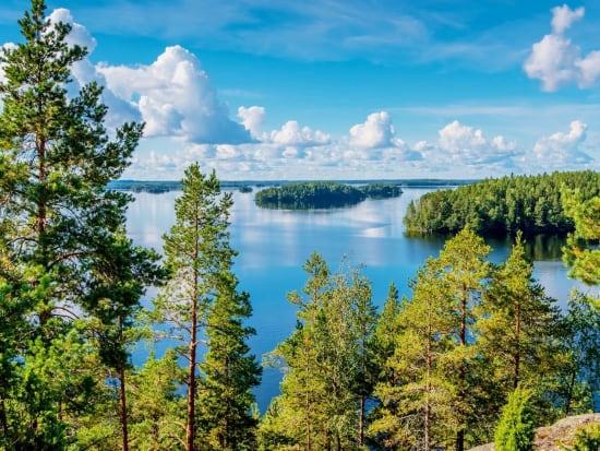 Photo SaimaaHoliday Oravi_Linnansaari national park ピクニックランチの場所