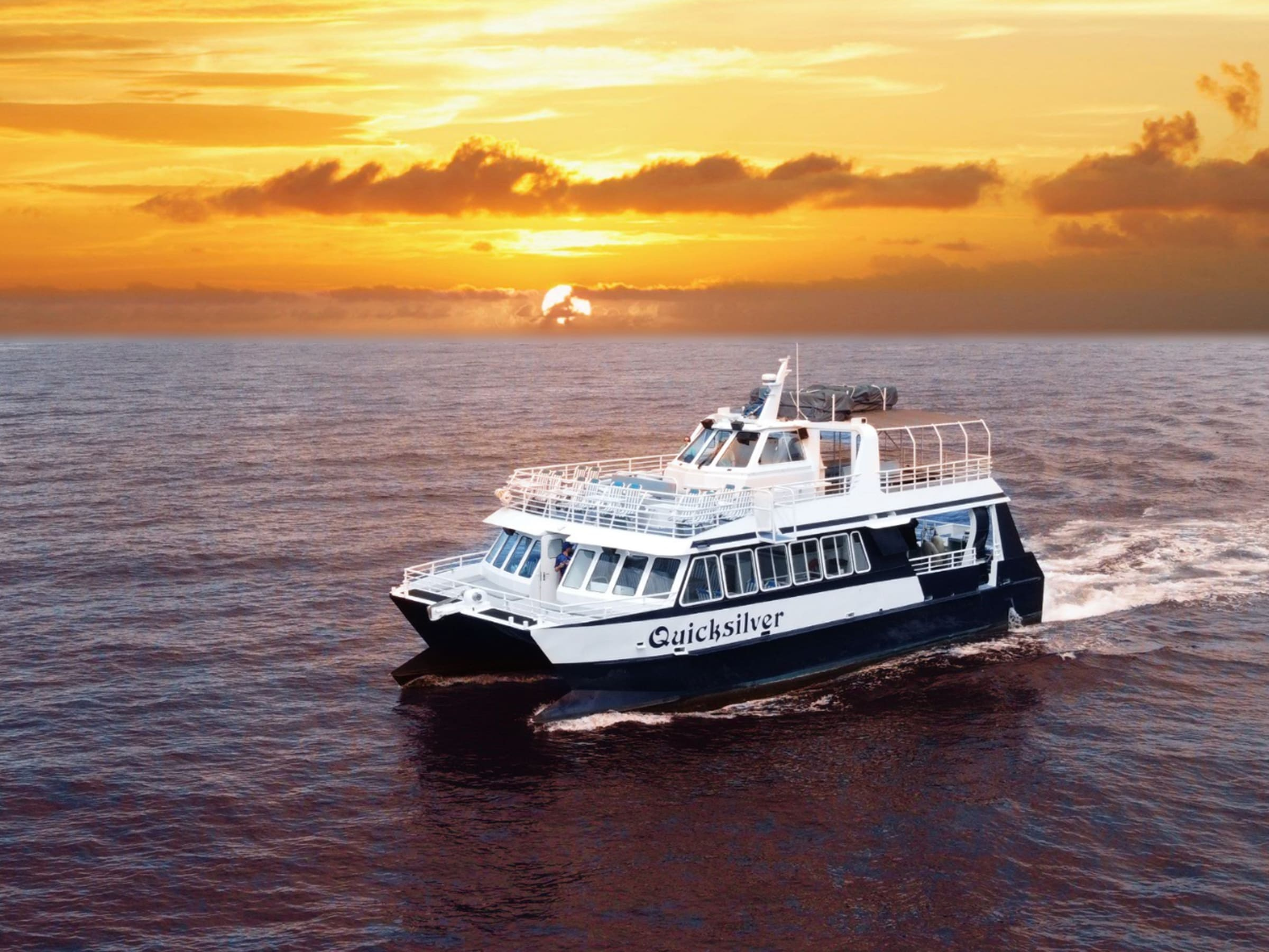 Quicksilver Lahaina Sunset Dinner Cruise [Open Now] tours, activities, fun  things to do in Maui(Hawaii)|VELTRA