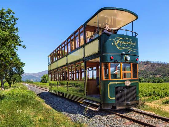 Franschhoek Wine Tram-Double-Decker
