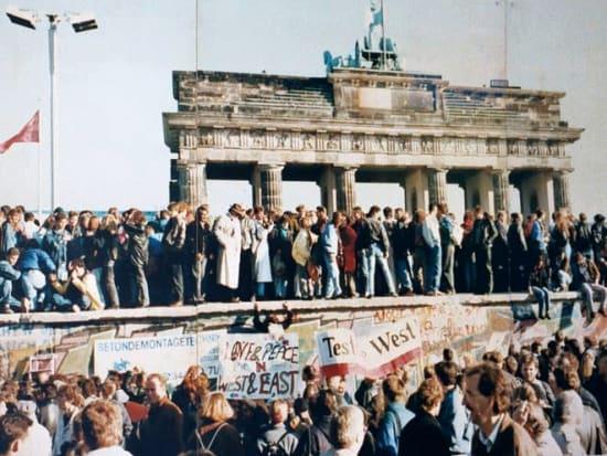 ベルリン ブランデンブルク門前