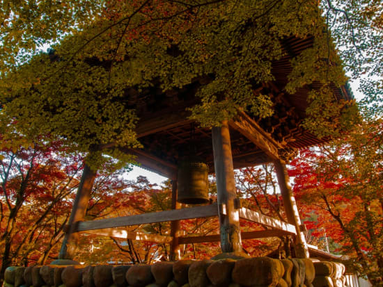 Japan_Shizuoka_Izu_Shuzenji Temple_Fall_Autumn_shutterstock_1455294881