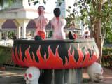 地獄寺のオブジェ