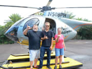 Photo with pilot just after landing!
