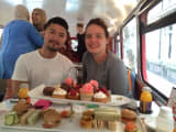 London Afternoon Tea Bus Tour on a Vintage Routemaster Bus