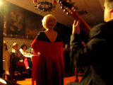 An authentic Fado concert in a typical Portuguese restaurant