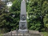 生家にある記念碑