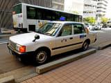 今回乗車した小型タクシー