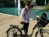 なかなか乗り心地のいい電動自転車