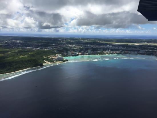 グアム セスナ遊覧飛行 送迎付きツアー 〈最長飛行時間65分!〉 byスカイグアムアビエーションの参加体験談 | グアムの観光・オプショナルツアー専門 VELTRA(ベルトラ)