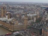 ロンドンアイからの眺め