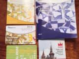 公共交通のフリーパス(薄い紙のカード)と施設に入館する際に割引を受けるためのカード(プラスティック製)の二枚のカードの他に、割引が受けられる全施設の詳細が写真入りで書かれた冊子とその場所をプロットした地図がセットになっています。