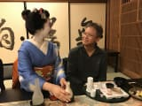 Dinner and conversation with a Maiko
