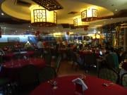 中華料理店。