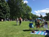 タングルウッド音楽祭の芝生席