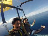 空まで飛んでけパラセ~リング