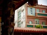 鹿港は歴史のある古い建物が多い。